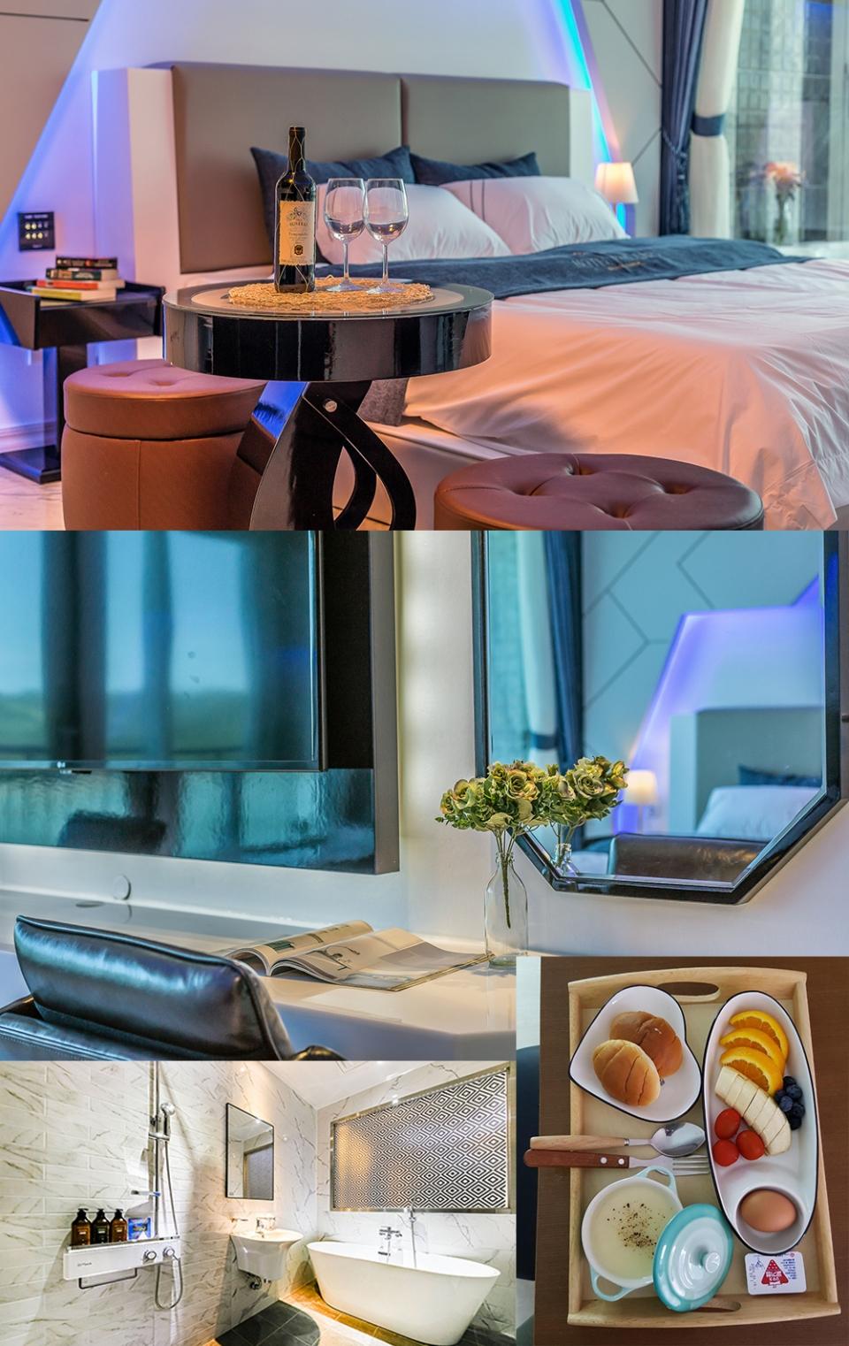 ▲ 호텔과 무인텔의 장점을 두루 갖춘 폴라리스무인호텔