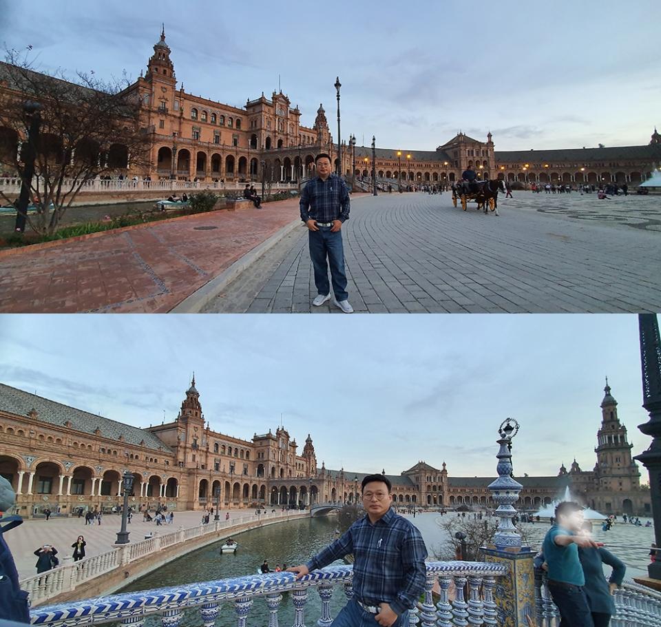 ▲ 스페인광장을 방문한 이영환 대표